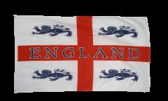 Drapeau Angleterre avec 4 Lions