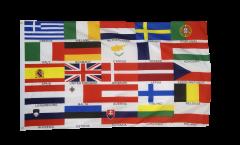Drapeau 25 Etats de l'Union européenne