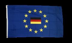 Drapeau Union européenne avec Allemagne
