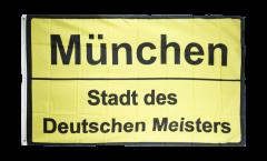Drapeau supporteur München Stadt des Deutschen Meisters