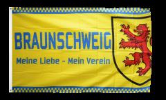 Drapeau supporteur Braunschweig - Meine Liebe