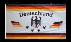 Drapeau supporteur Allemagne 4 étoiles