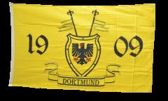 Drapeau supporteur Dortmund 1909 avec blason