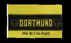 Drapeau supporteur Dortmund aigle Nr. 1 aus dem Pott