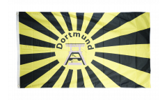 Drapeau supporteur Dortmund Chevalement de mine