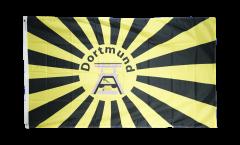 Drapeau supporteur Dortmund Chevalement de mine