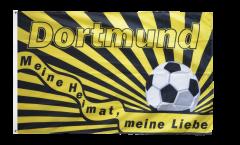 Drapeau supporteur Dortmund - Meine Heimat