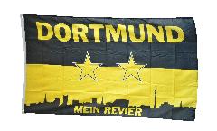 Drapeau supporteur Dortmund Mein Revier