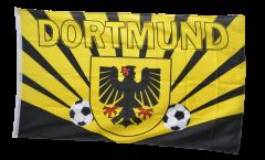 Drapeau supporteur Dortmund rayons