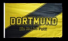 Drapeau supporteur Dortmund - Die Nr.1 im Pott