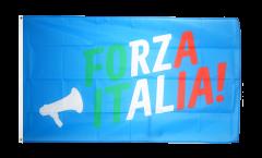 Drapeau supporteur Italie Forza Italia - 90 x 150 cm