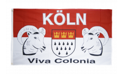 Drapeau supporteur Cologne Viva Colonia