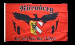 Drapeau supporteur Nürnberg - Im Zeichen des Adlers