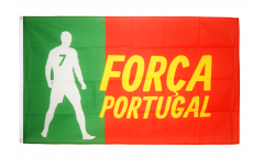 Drapeau supporteur Portugal Forca - 90 x 150 cm