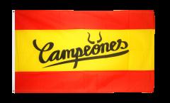 Drapeau supporteur Espagne Campeones - 90 x 150 cm