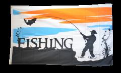 Drapeau Fishing - Pêche à la ligne