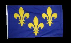 Drapeau France Île-de-France Fleur-de-Lys