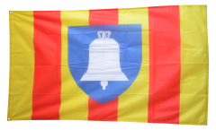 Drapeau France Ariège - 90 x 150 cm