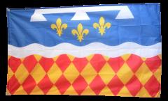 Drapeau France Charente - 90 x 150 cm