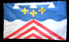Drapeau France Eure-et-Loir - 90 x 150 cm