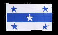 Drapeau France Polynésie francaise Îles Gambier