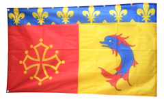 Drapeau France Hautes-Alpes - 90 x 150 cm