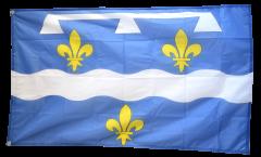 Drapeau France Loiret - 90 x 150 cm