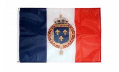 Drapeau France Blason royal