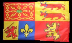 Drapeau France Pyrénées-Atlantiques - 90 x 150 cm
