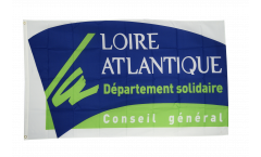 Drapeau France Région Loire Atlantique - 90 x 150 cm