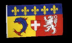 Drapeau France Rhône-Alpes