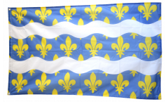 Drapeau France Seine-et-Marne - 90 x 150 cm