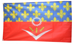 Drapeau France Seine-Saint-Denis - 90 x 150 cm