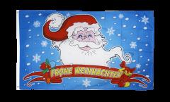 Drapeau Joyeux Noël Père Noël