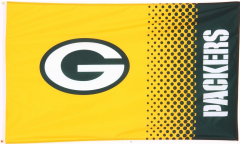 Drapeau NFL Green Bay Packers Fan - 90 x 150 cm