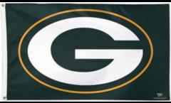Drapeau NFL Green Bay Packers Logo - 90 x 150 cm