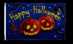 Drapeau Halloween Happy Halloween Citrouille