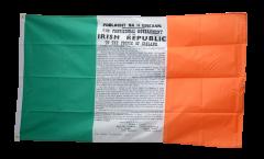 Drapeau Irlande Proclamation de Pâques 1916 - 90 x 150 cm
