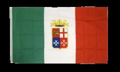 Drapeau Italie enseigne naval