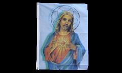 Drapeau Jésus avec l'étoile