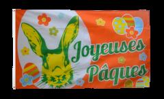 Drapeau Joyeuses Pâques