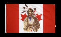 Drapeau Canada Indien