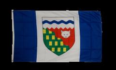 Drapeau Canada Territoires-du-Nord-Ouest
