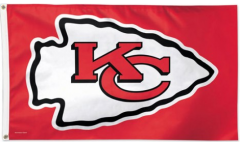 Drapeau NFL Kansas City Chiefs - 90 x 150 cm