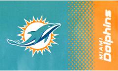 Drapeau NFL Miami Dolphins Fan - 90 x 150 cm