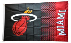 Drapeau NBA Miami Heat - 90 x 150 cm