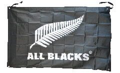 Drapeau Nouvelle-Zélande ALL BLACKS - 90 x 150 cm