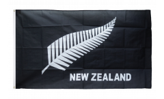Drapeau Nouvelle-Zélande Plume All Blacks
