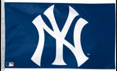 Drapeau New York Yankees Logo