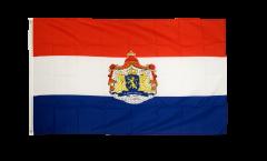 Drapeau Pays-Bas avec Blason